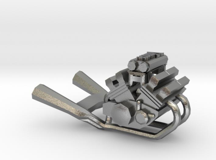 Yamaha Vmax engine miniature 3d printed