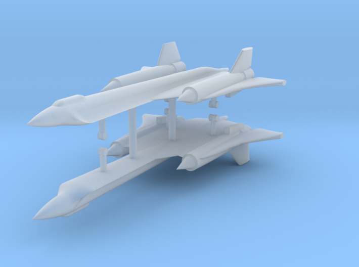 1/700 Lockheed YF-12 (x2) 3d printed