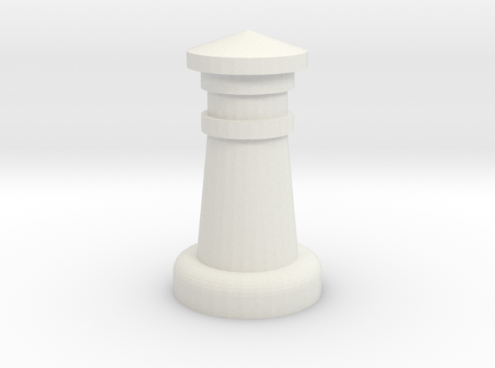 Chess Castle 3d printed