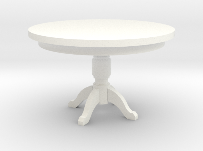 Miniature 1:48 Kitchen Table 3d printed