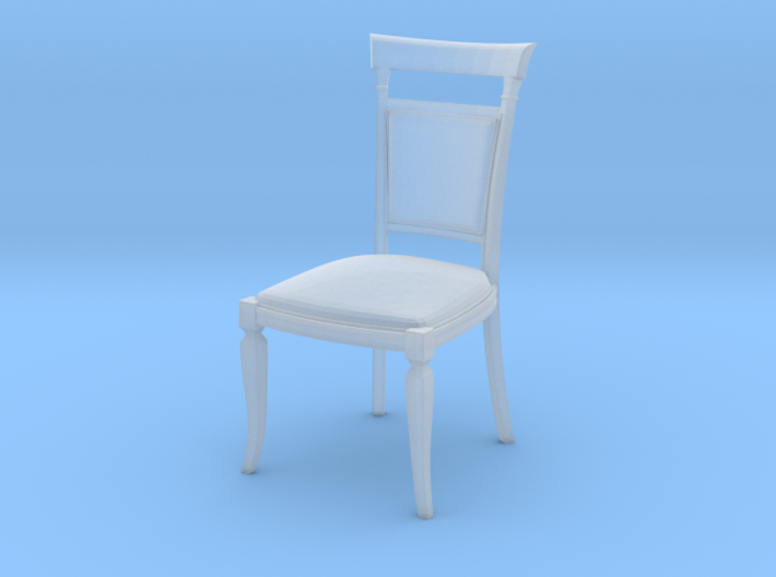 Miniature 1:48 Dining Chair 3d printed