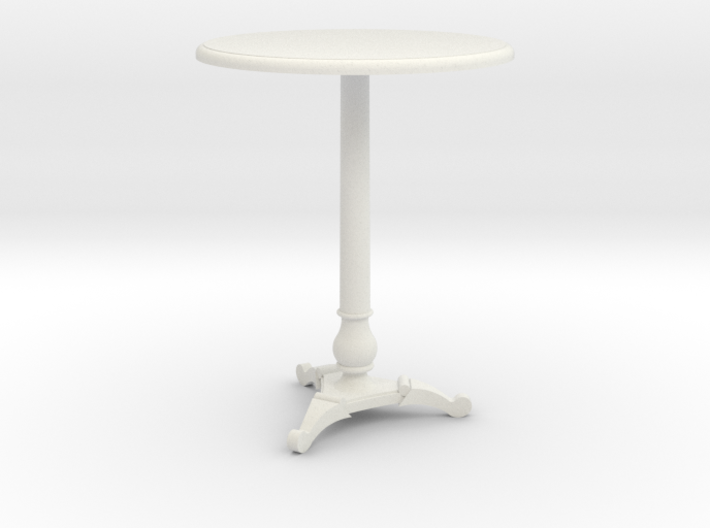 Miniature 1:24 Cafe Table 3d printed
