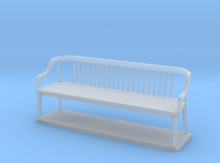 Miniature 1:48 Bankers Bench 3d printed