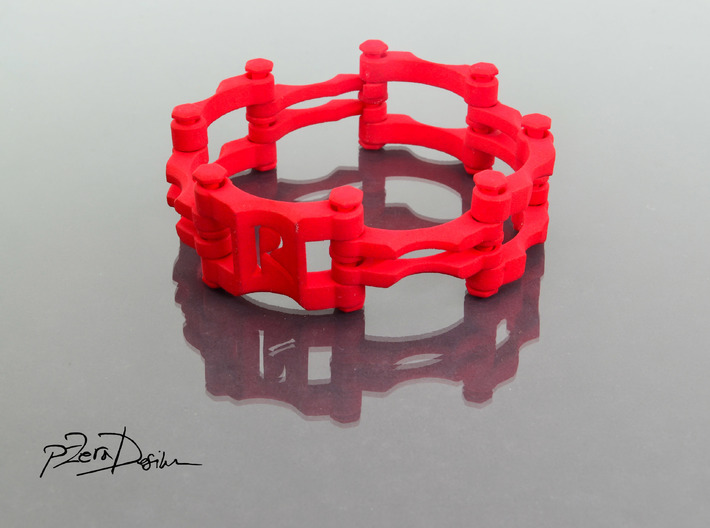 Chain Link Bracelet 8 inch 3d printed
