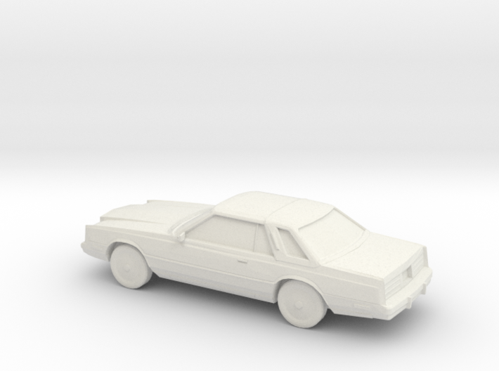 1/87 1980 Chrysler Cordoba 3d printed