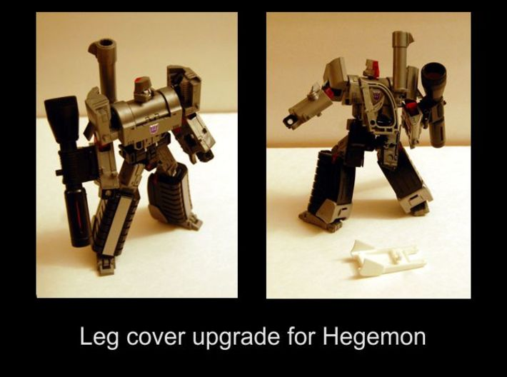 Hegemon Leg Covers V1 3d printed