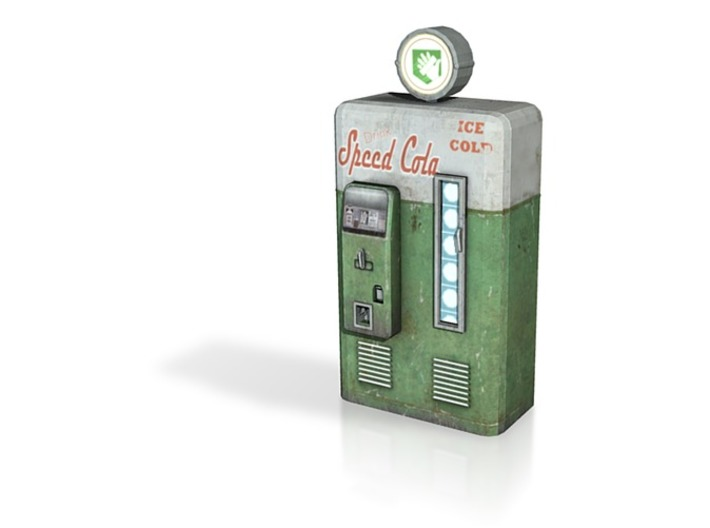 Speed Cola - Nazi Zombies Miniature Perk Machines 3d printed