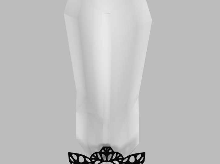 Parametric Bow Accessory 3d printed concept photo