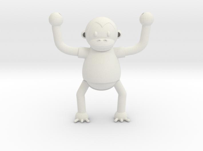 Climbing Monkey 3d printed