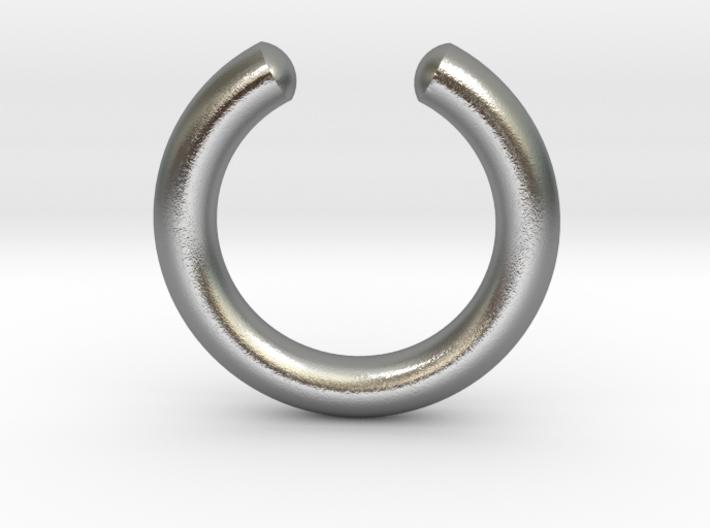 Simple Faux Septum Ring 3d printed