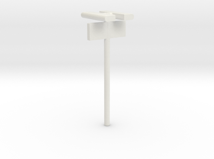 1/160 - DSB Stations lampe (dobbelt) med Perronafs 3d printed