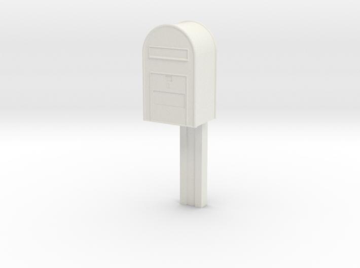 1/22,5 - Post Danmark - Postkasse på stang 3d printed