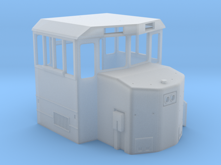 HO MK1500 Cab Only 3d printed
