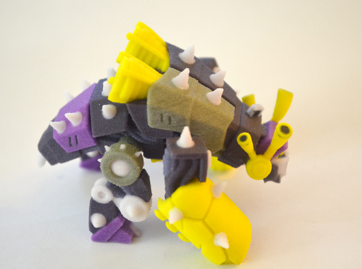 "Bob the Insecticon (2.5"" statuette) 3d printed"