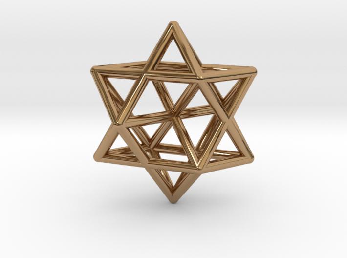 Star Pendant #1 3d printed