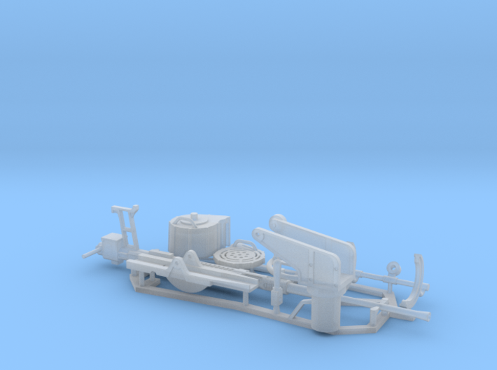1:18 scale 20mm Cannon Set 3d printed