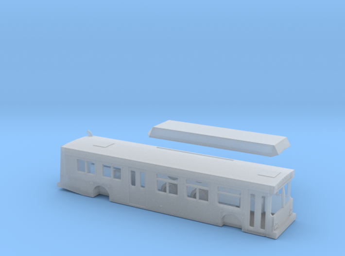 n scale new flyer c40lf sdmts (improved) 3d printed