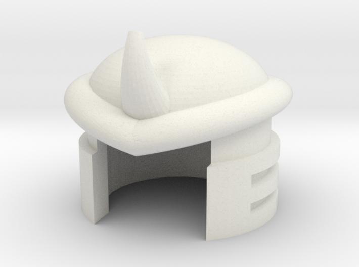 Robohelmet: Boom-flap 3d printed