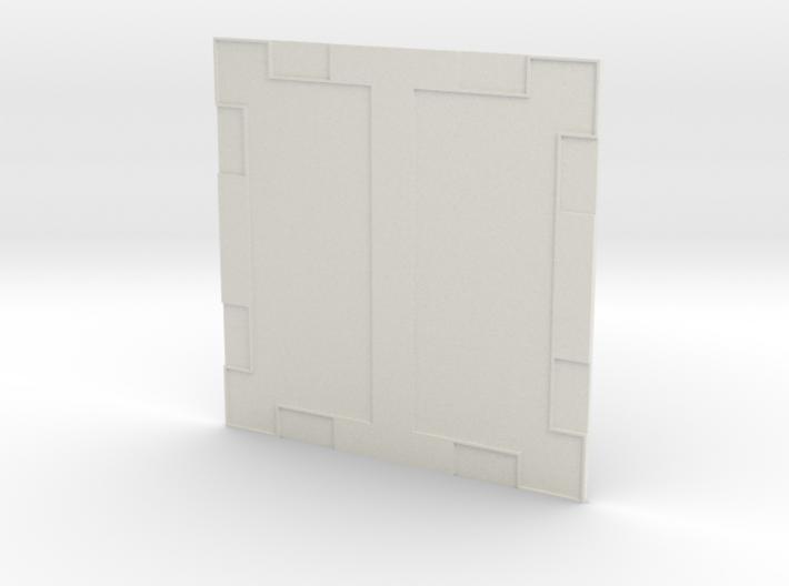 Econoliner floor-1/18 scale Action Figure display 3d printed