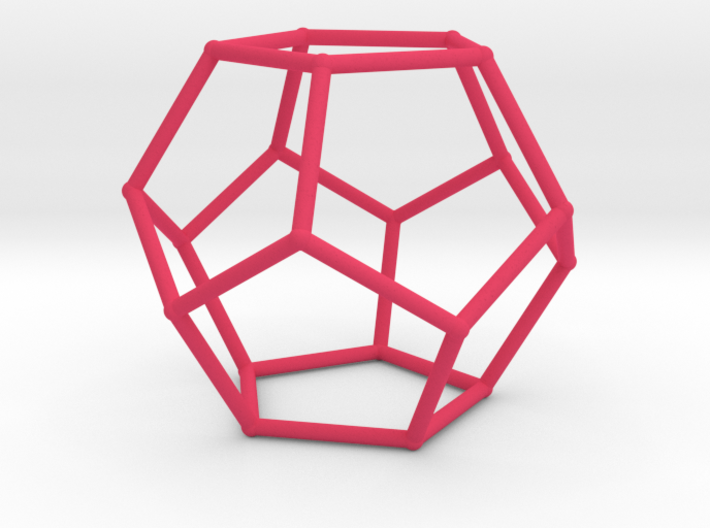 Dodecahedron (100 cc) 3d printed