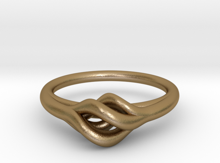 Twist Ring 3d printed