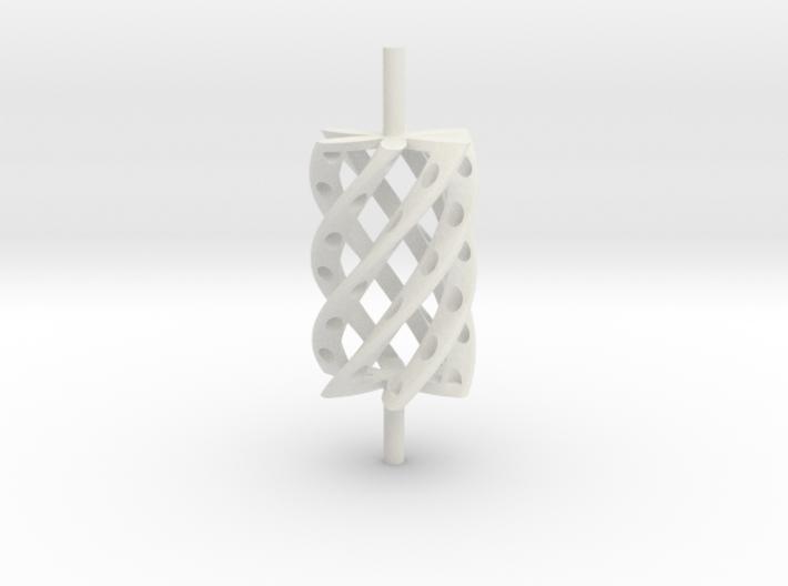 Twist Roller4hollo-r 3d printed