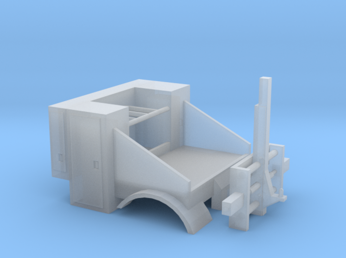 1/87th HO Scale Mobile Home Toter truck body 3d printed