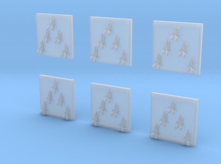 "Taiidan ""Triikor"" Interceptors (6) 3d printed"