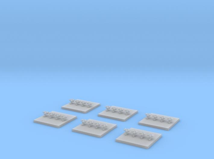 """Taiidan """"Seejur"""" Defenders (6) 3d printed"""