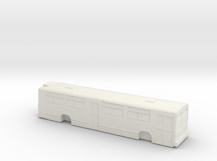 HO scale GM/MCI/nova classic bus 2 door 3d printed