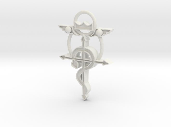 Flamel Cross 3d printed
