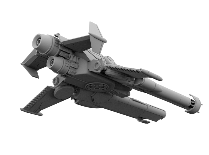 Amaranth - 110mm For WSF 3d printed