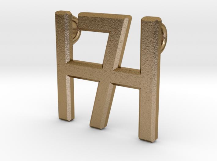 Smykke - H7 vedhæng (stor) 3d printed