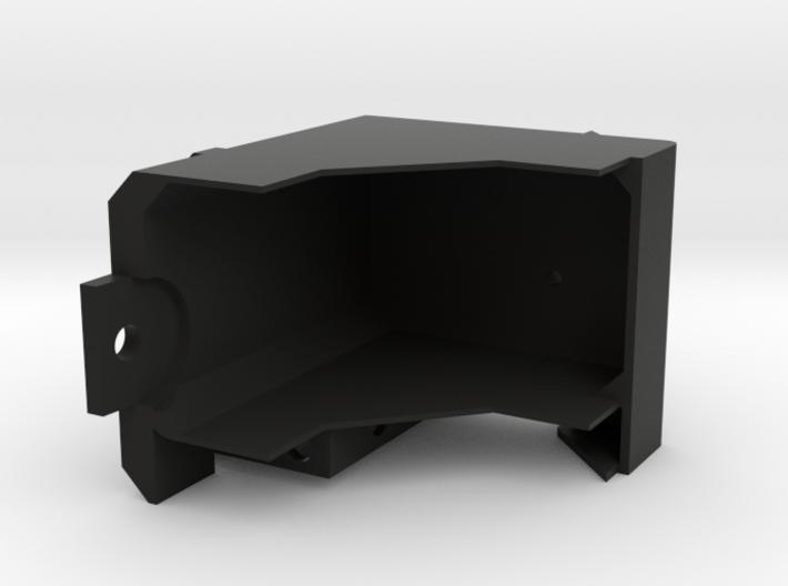 Bruder Delta Loader: Battery and boom mount 3d printed