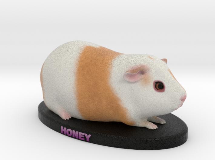 Custom Guinea Pig Figurine - Honey 3d printed
