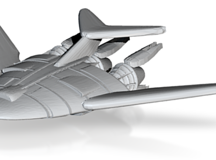 1/2500 B5 EA Atmospheric Shuttle 2 :-) 3d printed