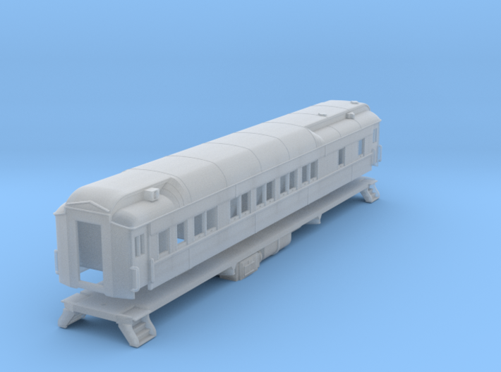 Pullman sleeper, plan3410 (shortened)(1/160) 3d printed