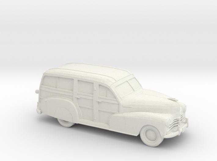 1/87 1948 Chevrolet Fleetmaster Woody 3d printed