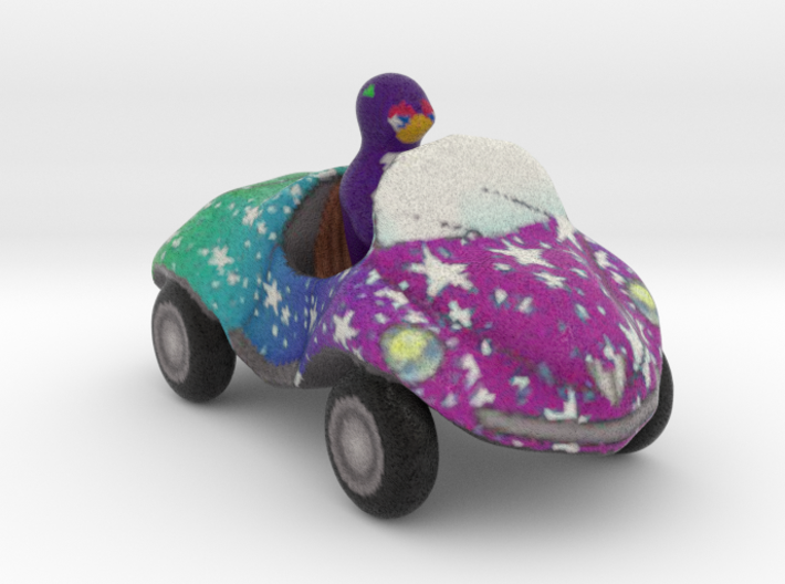 Coccinelle toy car 3d printed