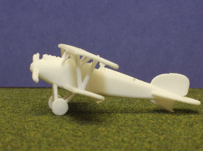 Albatros D.III (early version) 3d printed 1:144 Albatros D.III print