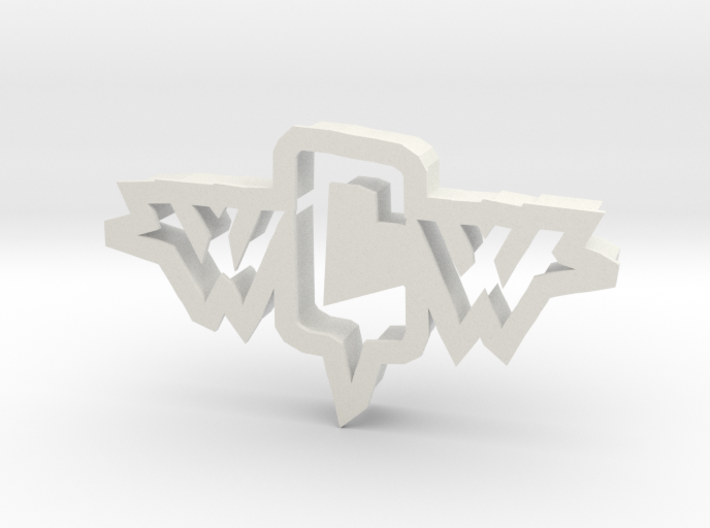 inVasion logo cookie cutter 3d printed