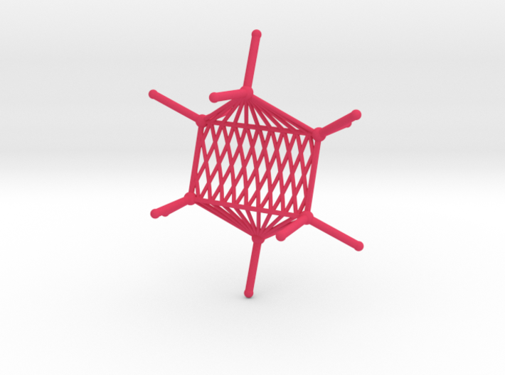 Cyclohexane Hammock 3d printed