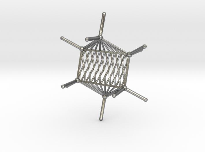 Cyclohexane Hammock 3d printed