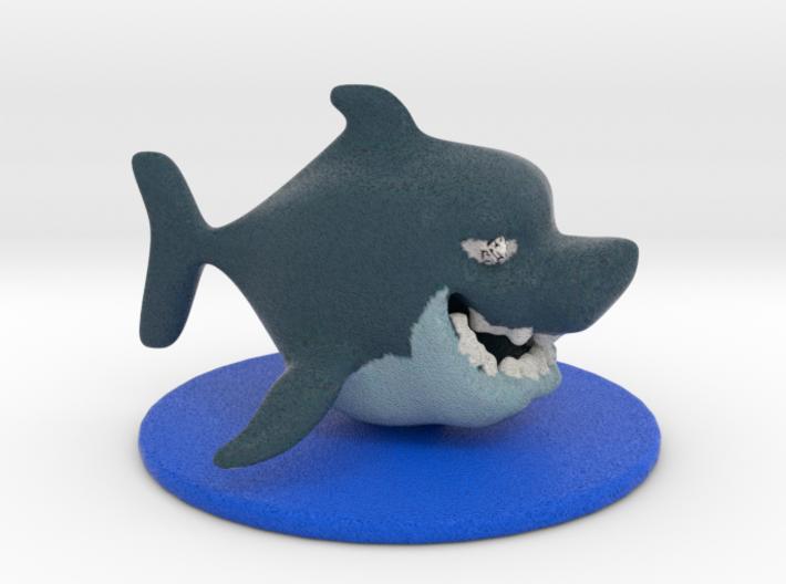 Little Shark 3d printed