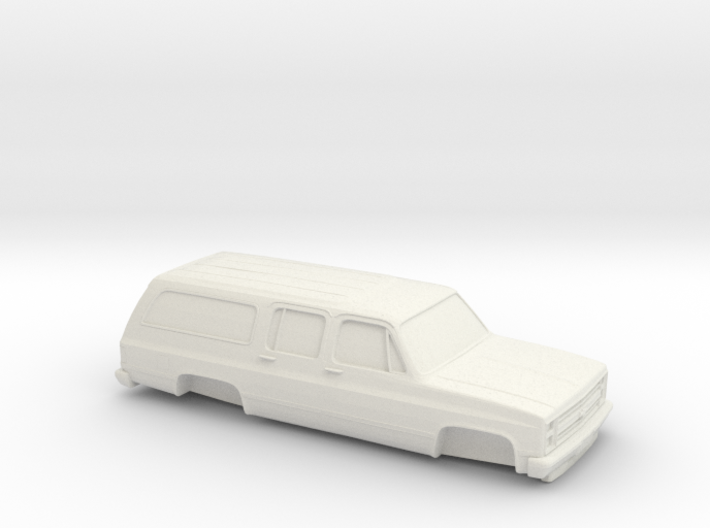 1/87 1986 Chevrolet Suburban 3d printed