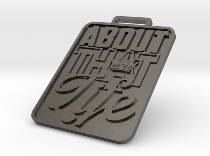 About That Life KeyChain 3d printed
