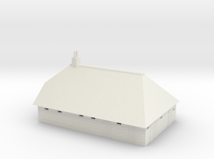 Giethoorn boerderij / farm in schaal 1:160 3d printed