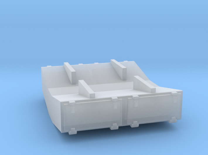 PRR 1½ ton Ice Bunker/Sump (1/160) 3d printed