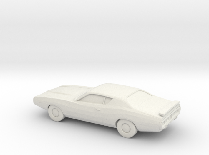 1/87 1971 Dodge Charger 3d printed