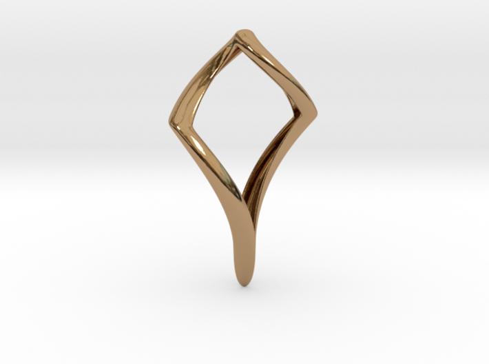 Pike (precious metal) 3d printed